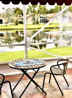 Enjoy your waterside Lanai under the cool awning that makes this space usable in the afternoon.
