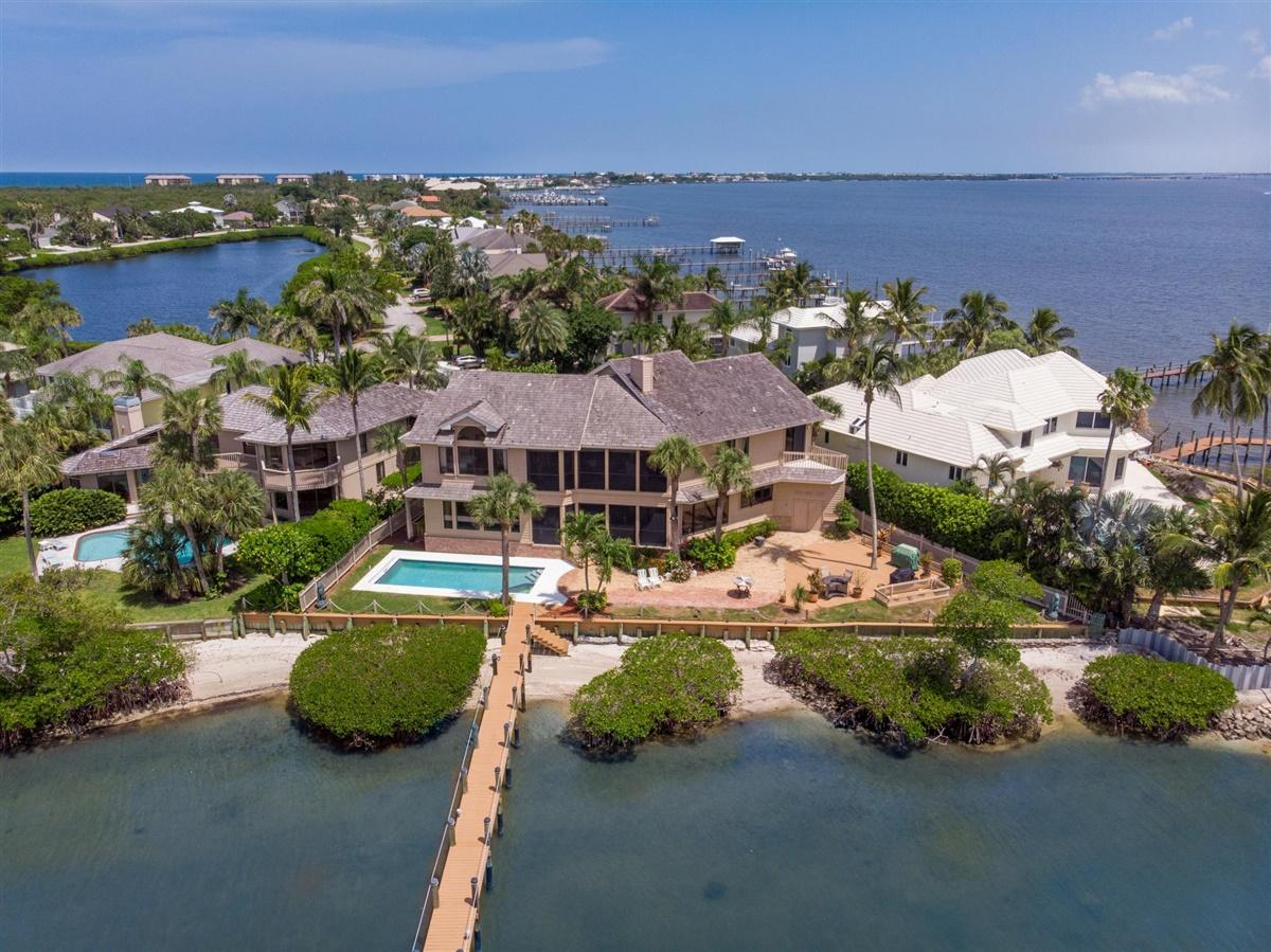 Home for sale in Joe's Point Stuart Florida
