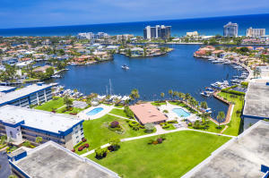 AERIAL OF TROPIC HARBOR AND INTRACOASTAL