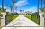 Side entrance driveway