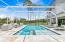 Screened pool & hot tub