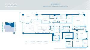 2 - Seabreeze Floorplan