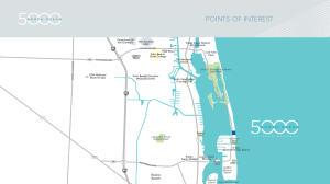 Map of Singer Island