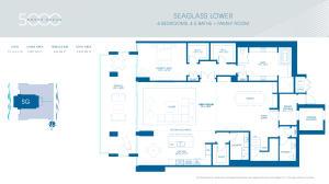 Seaglass Lower Level Floor Plan