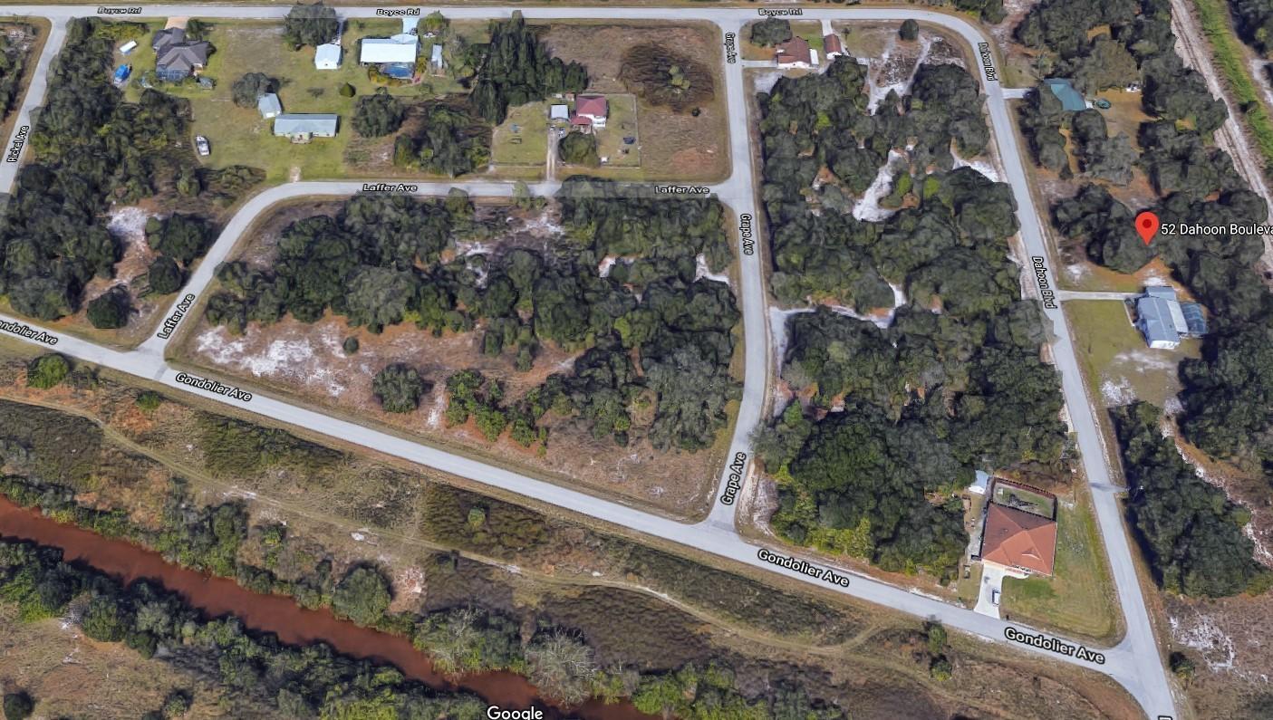 52 Dahoon Boulevard, Punta Gorda, Florida 33982, ,Land,For Sale,Dahoon,RX-10648647