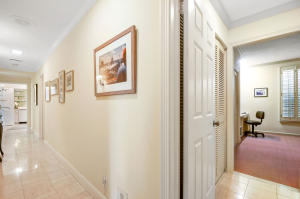 Hallway & Entry to Rear Guest Bedroom