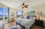 Beautiful Guest Bedroom with Vibrant Colors