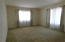2nd BR w/plush wall to wall carpeting