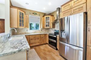 Beautifully renovated farmhouse styled kitchen