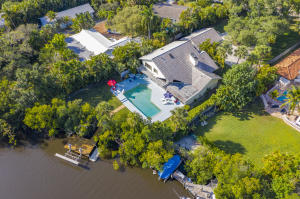 Almost 1 acre of waterfront land