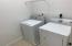 Large Utility room for Washer & Dryer