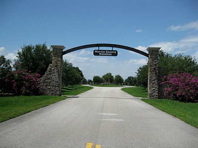 Martin County Ranch Gate