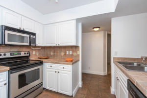 Clean Kitchen with Stainless Steel Appliances