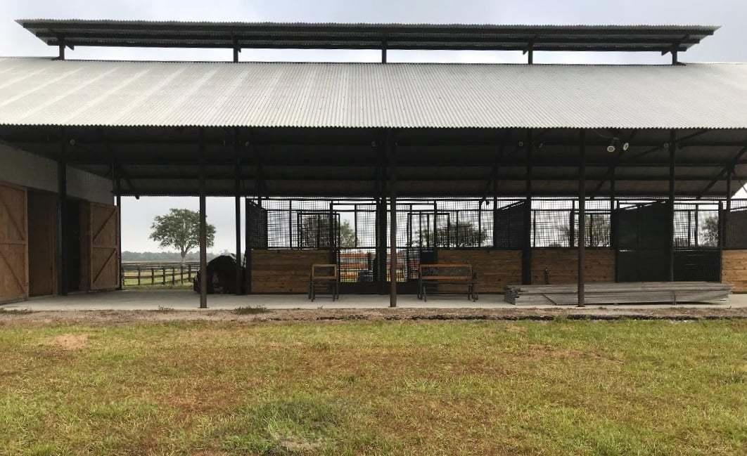 Air Barn outside