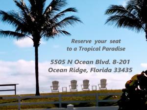 5505 N Ocean Boulevard, 8-201, Ocean Ridge, FL 33435