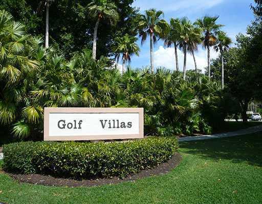 Golf Villa Entrance
