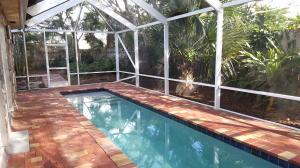 Screened pool