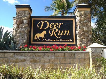 deer run entrance