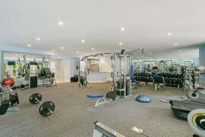 Home Gym with Juice Bar