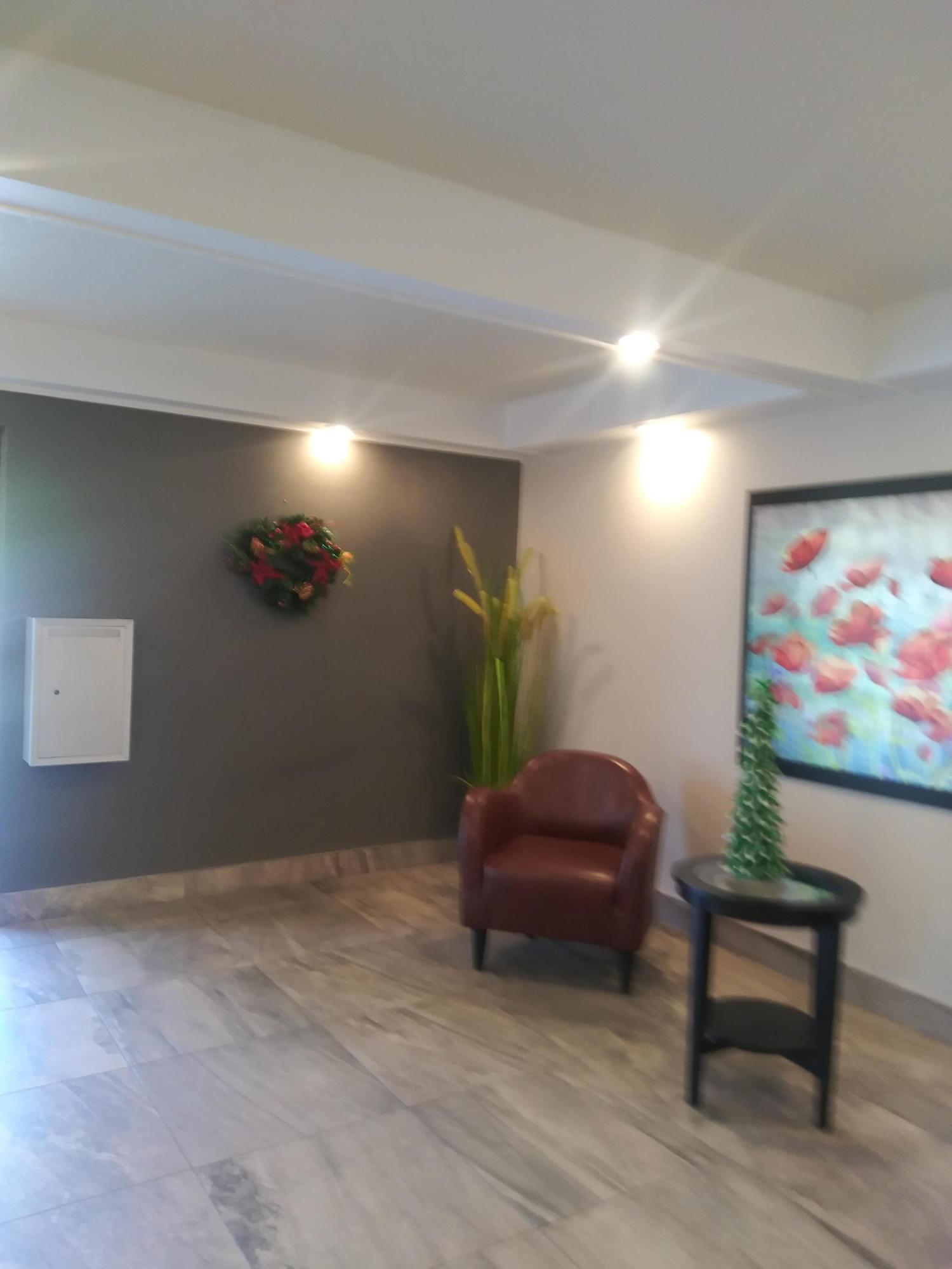 Lobby on building