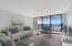 LARGE LIVING AREA WITH MILLION DOLLAR VIEWS! INVITING BALCONY SPANS ENTIRE UNIT.