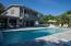 600 Sq FT swimming pool, LED Lights