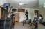 Fitness room on upper level