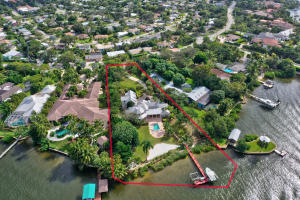 1.27 Acre property with 181 ft of Loxahatchee River frontage