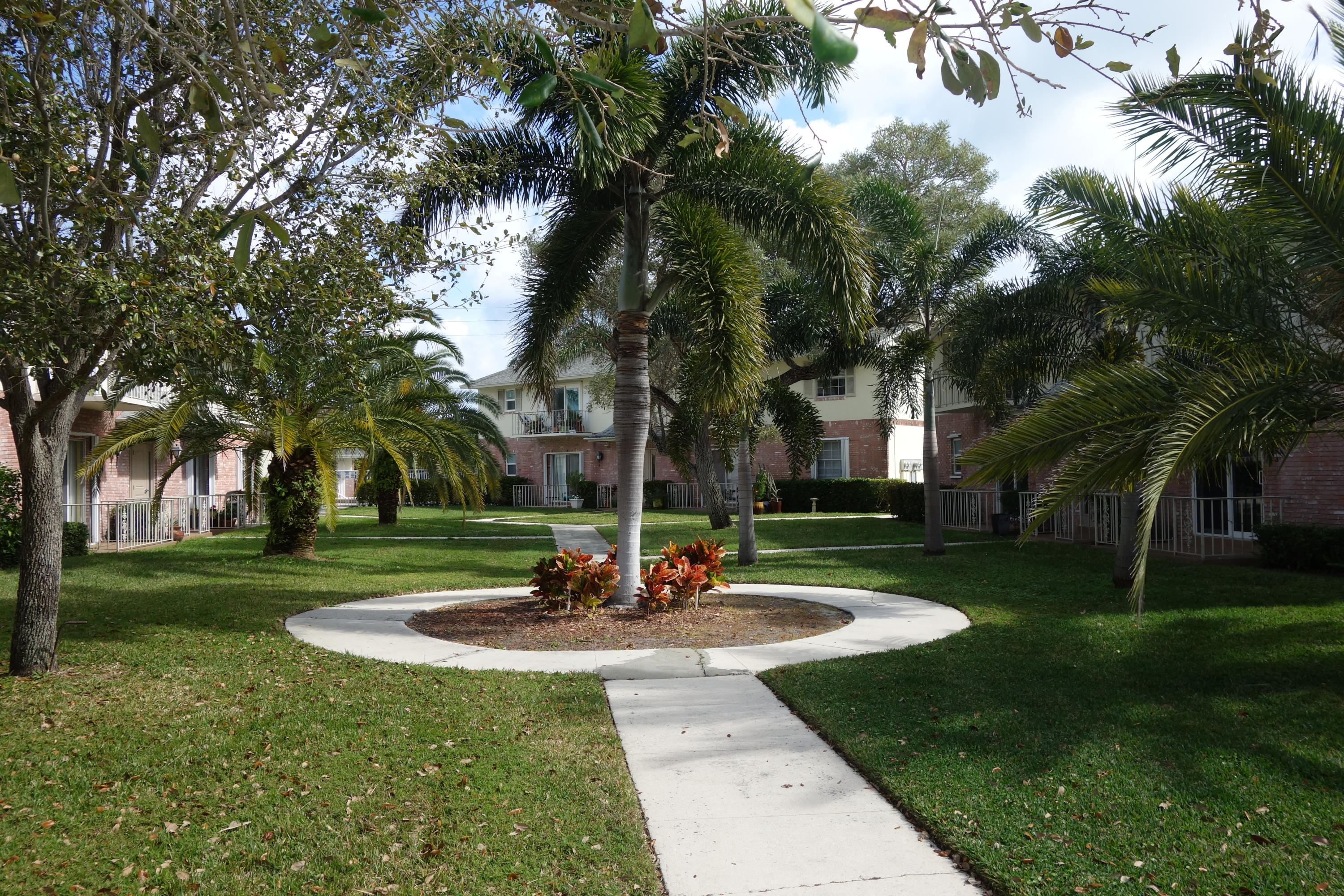 Spacious and well maintained 2BR-2BTH condo in a charming and unique community that is just minutes to beaches, restaurants, newly built library, activities, civic center, downtown Delray, and more. So convenient!The great room is comfortable and has a balcony that overlooks a lovely garden area with trees and walkways.  Front door enters from the common garden area and a back door is convenient to your car.  Plenty of parking.  Great location.Furniture can be included if desired.