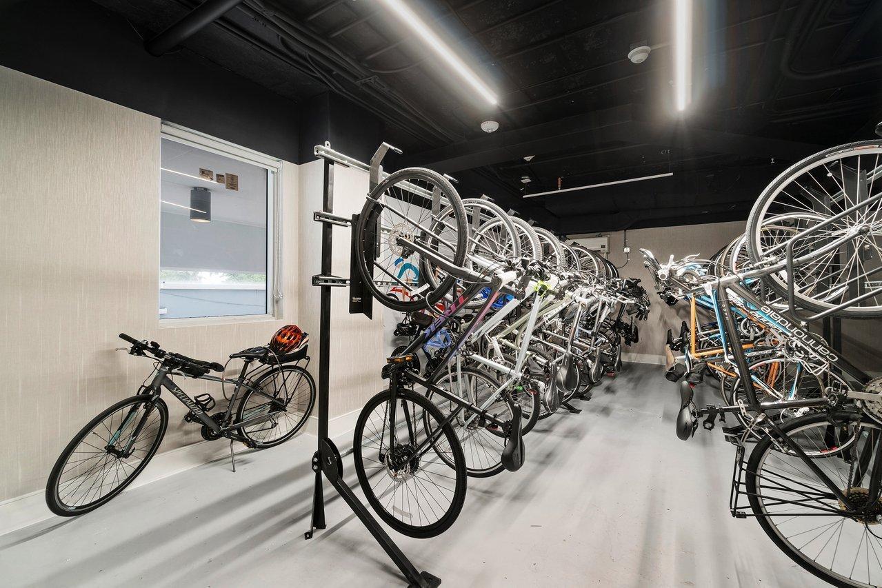 Bike Rack Room