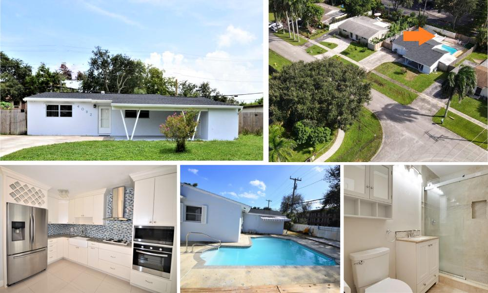 Home for sale in PALM BEACH SQUARE UNIT 1 IN PB 26 PGS 143 & 144 Palm Beach Gardens Florida
