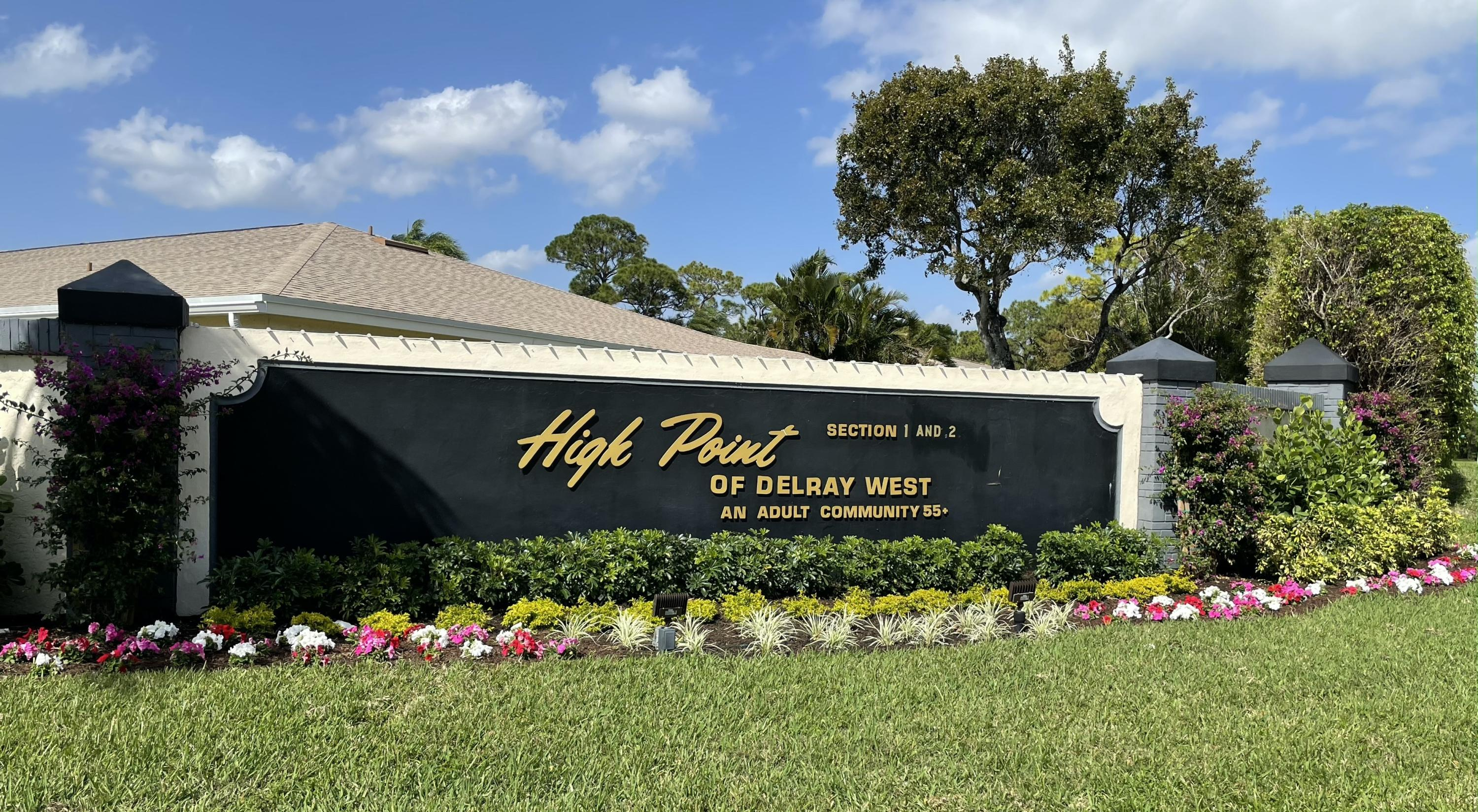 Home for sale in High Point Of Delray Section 1 West Delray Beach Florida