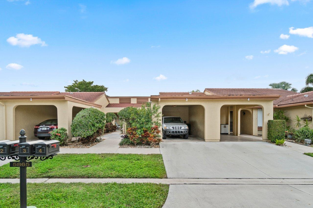 5865 Forest Grove Drive 3  Boynton Beach FL 33437