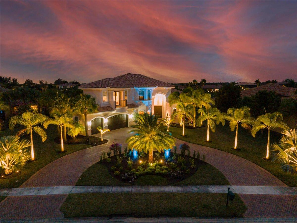Home for sale in The Preserve Bay Hill Estates Palm Beach Gardens Florida