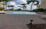 Large heated pool overlooking Intracoastal