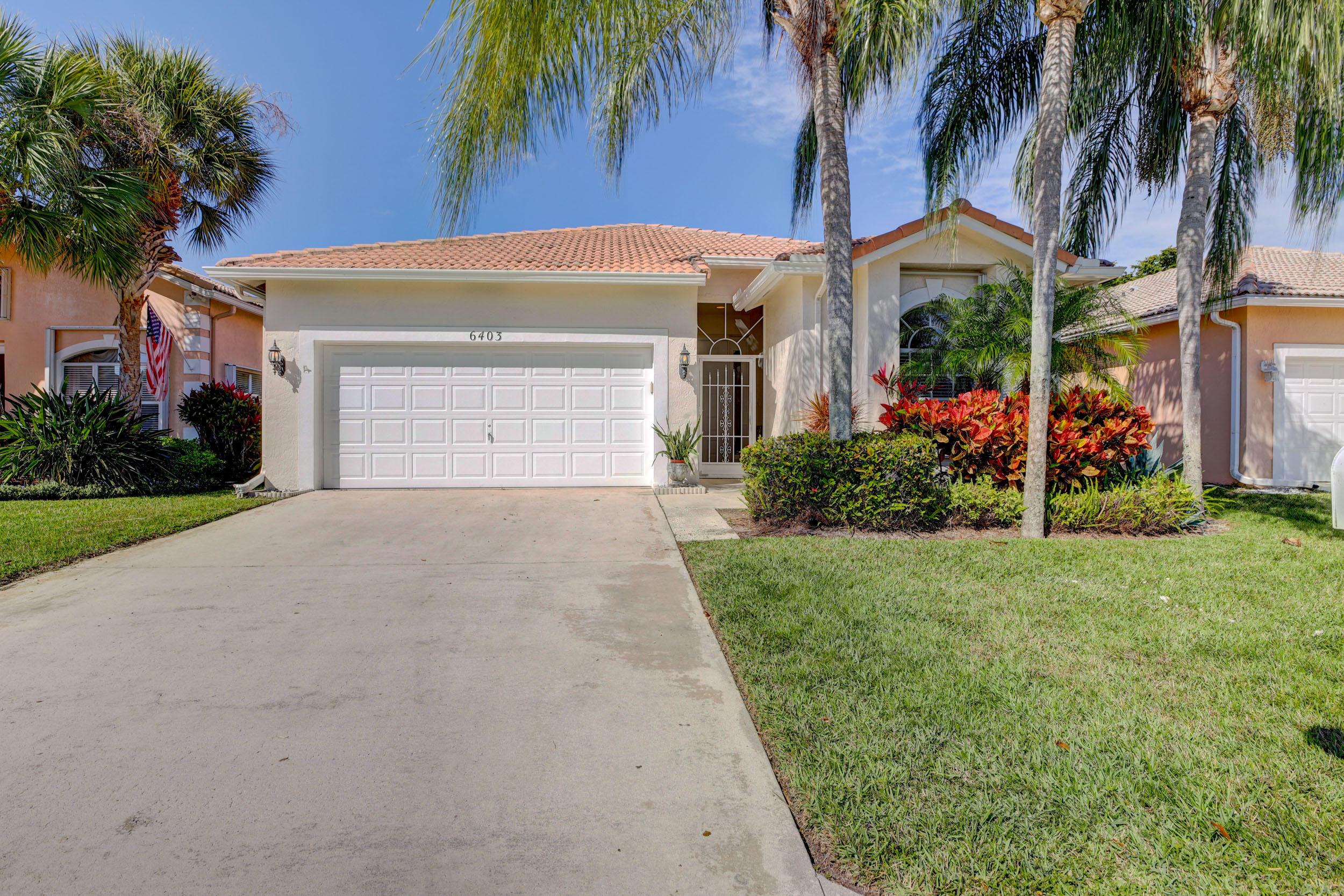 6403 Jackson Lane  Boynton Beach FL 33437