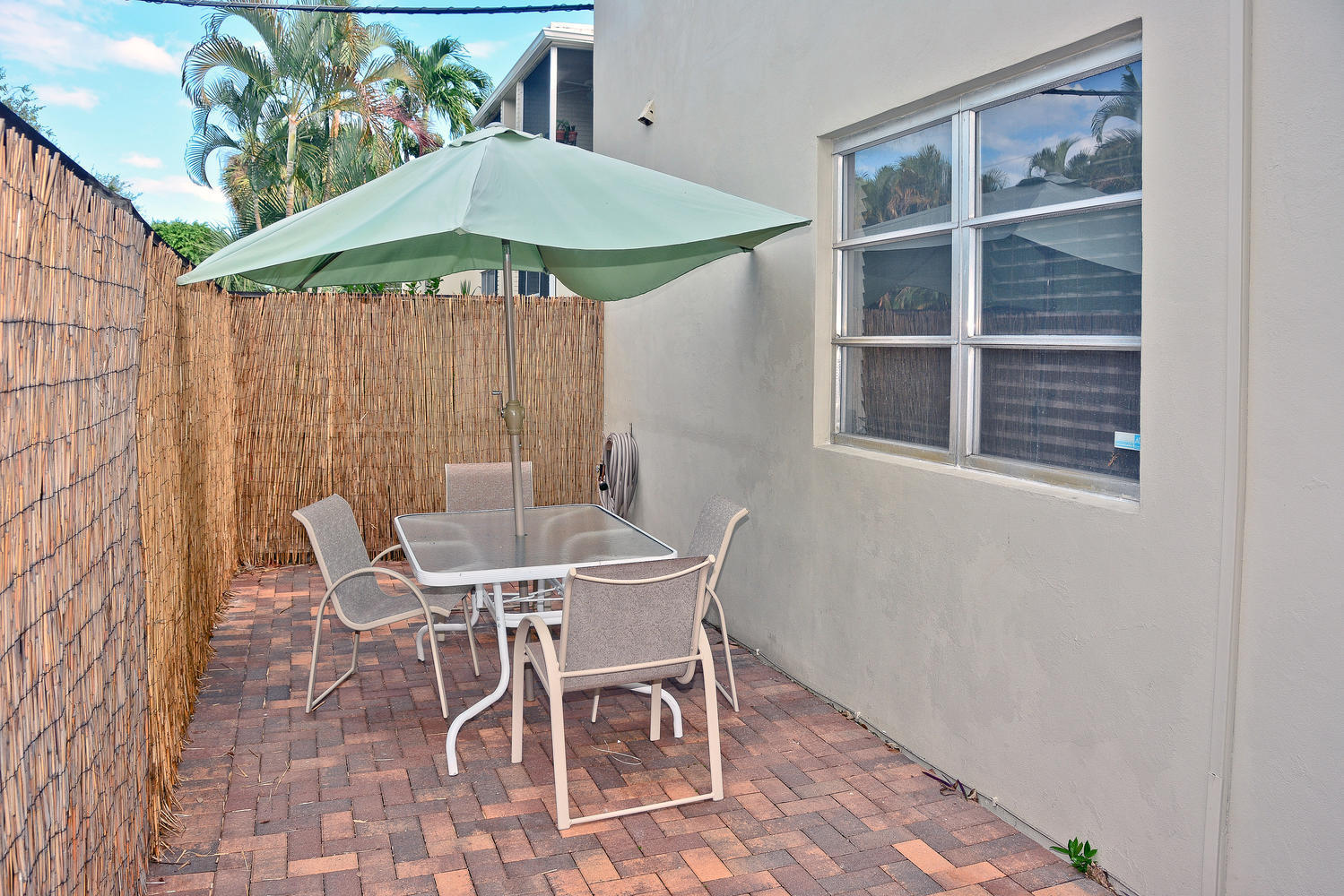 hk porch with patio table