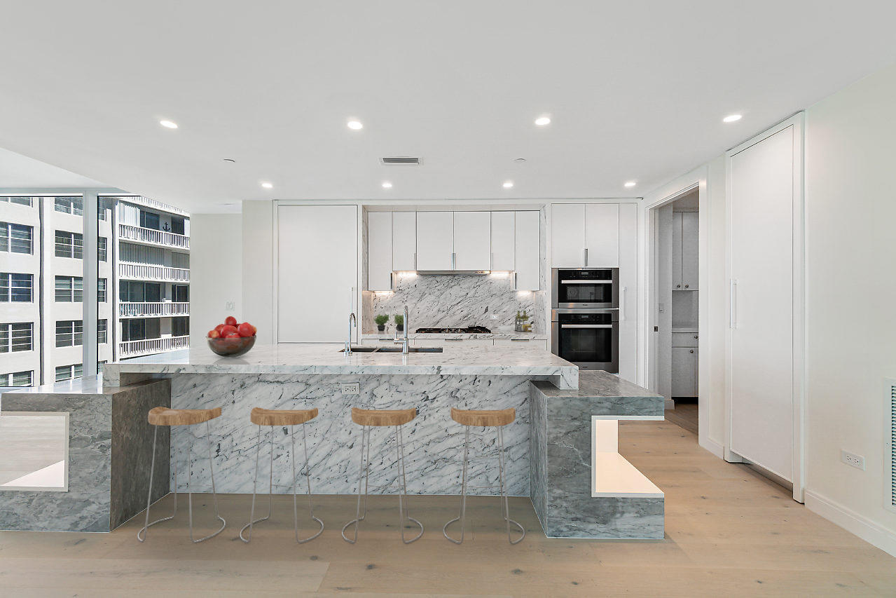 Open Chef's Kitchen