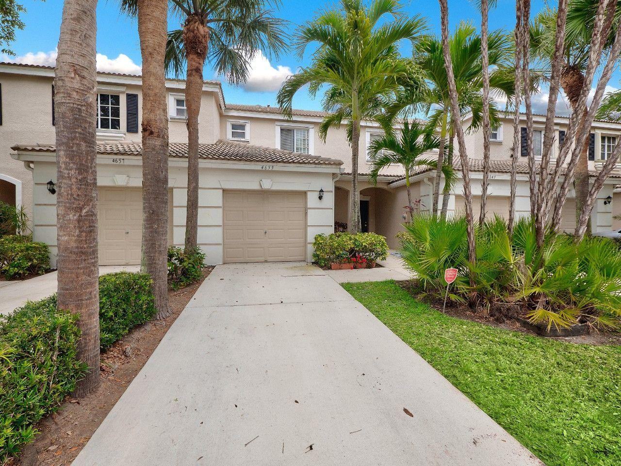 Home for sale in PALMBROOKE TOWNHOMES West Palm Beach Florida