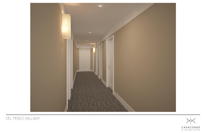Del Prado Hallway Rendering