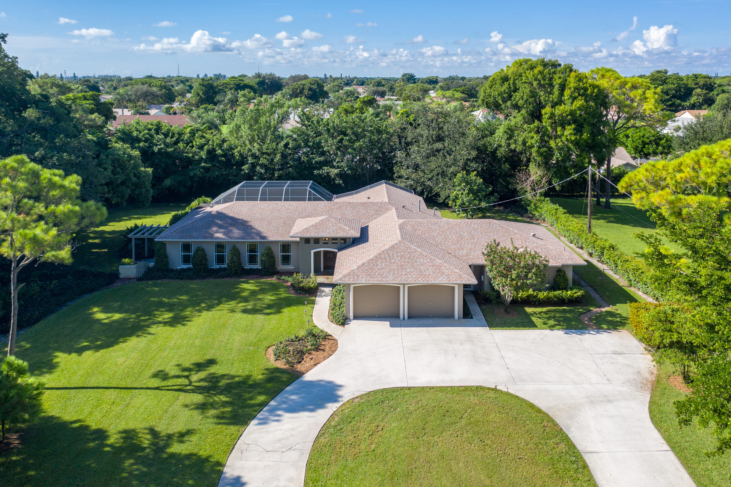 Home for sale in Lone Pine-Acreage & Unrec Delray Beach Florida