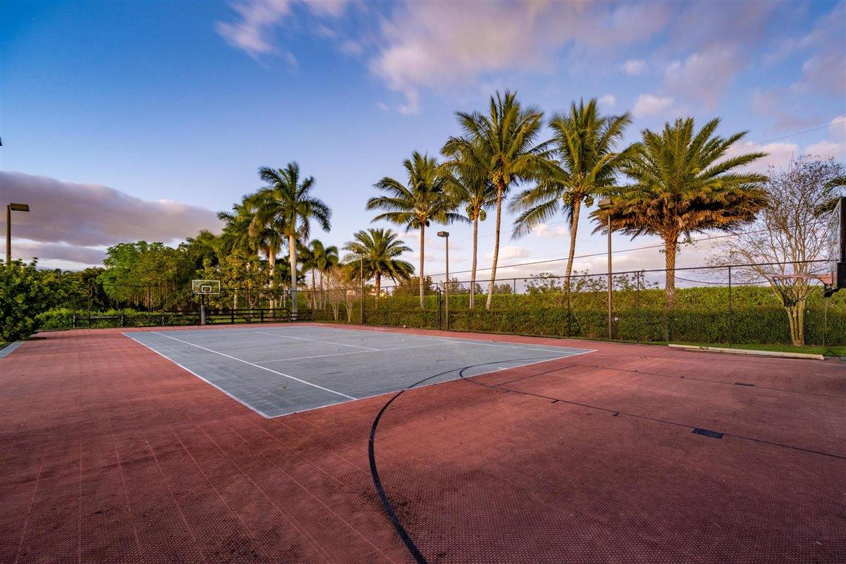 Tennis/Basketball Court.