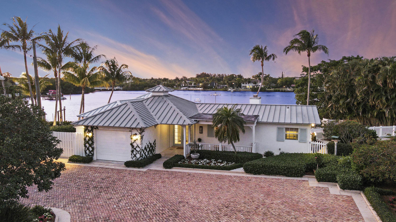 Home for sale in Loxahatchee riverfront Jupiter Florida