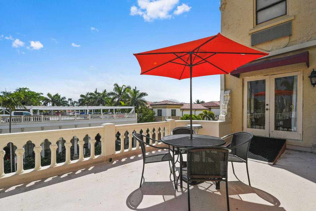 Presenting a unique and rare opportunity to purchase this one of a kind double apartment in the historic Palm Beach Hotel. Featuring two expansive family areas with a private balcony and unparalleled views, this apartment has floor-to-ceiling windows throughout allowing for beautiful natural lighting making the space feel open and grand. The apartment is in close proximity to all amenities including the world famous Breakers Hotel, Palm Beach's finest beaches, fine dining, great shopping, and Publix. The building offers a 24 hour doorman, a large private pool, gym, laundry room, and spa. An ideal time to buy this Pied a Terre to escape the Northeast! The building is the only property in Palm Beach which allows for unlimited rentals - This opportunity is not to be missed!