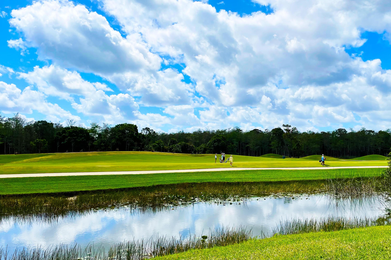 Golfera in the Backyard