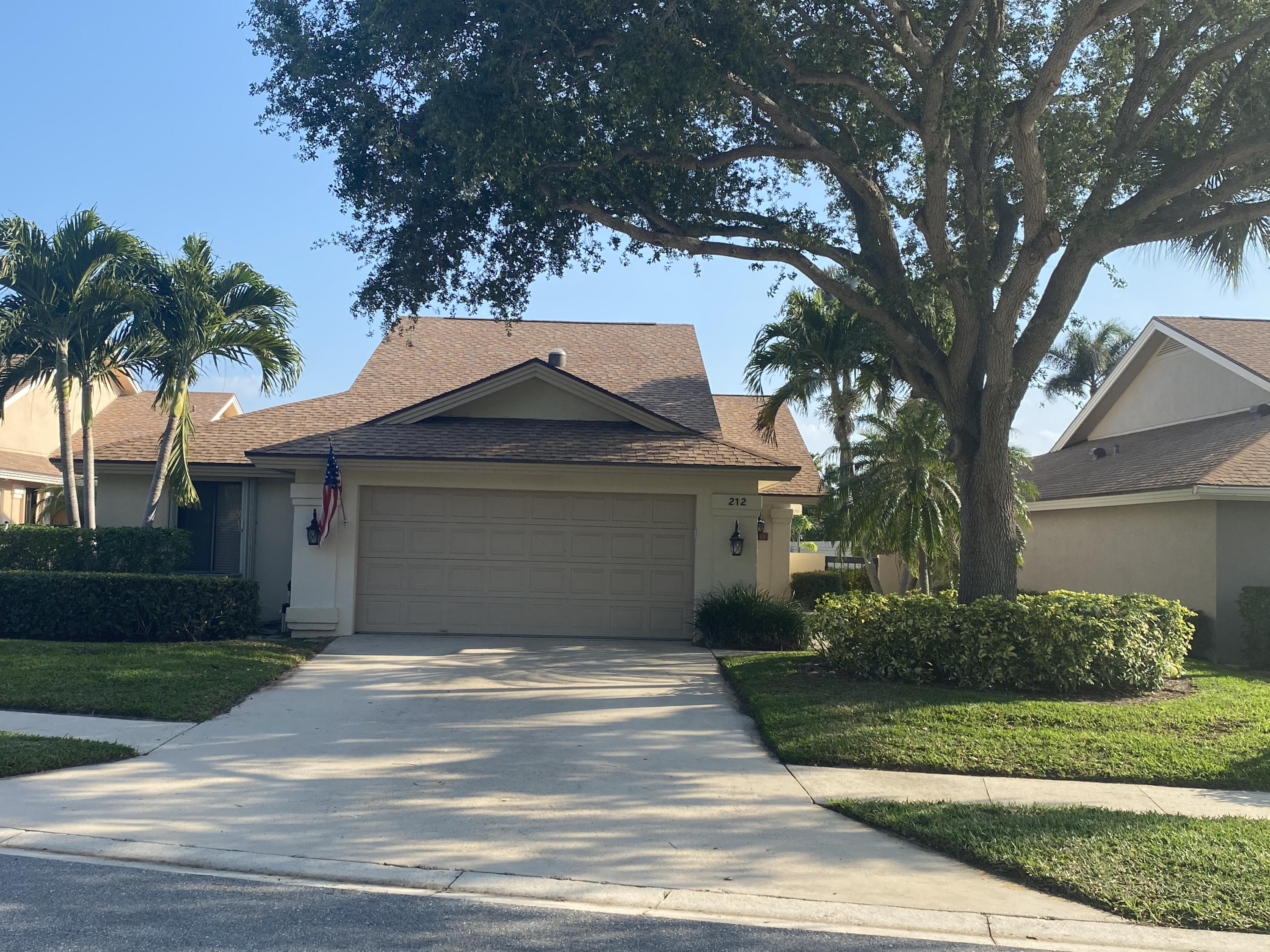 This is the one you have been waiting for! A very rare find as it is one of the largest lots in all of the Bluffs with long lake views and a huge backyard. Home is also centrally located to community pool and amenities. Property has been well maintained and is ready for your personal touches. Third bedroom has finished loft with stairs. Finished Florida Room and very easy to maintain with accordion shutters. Listing agent related to owner.