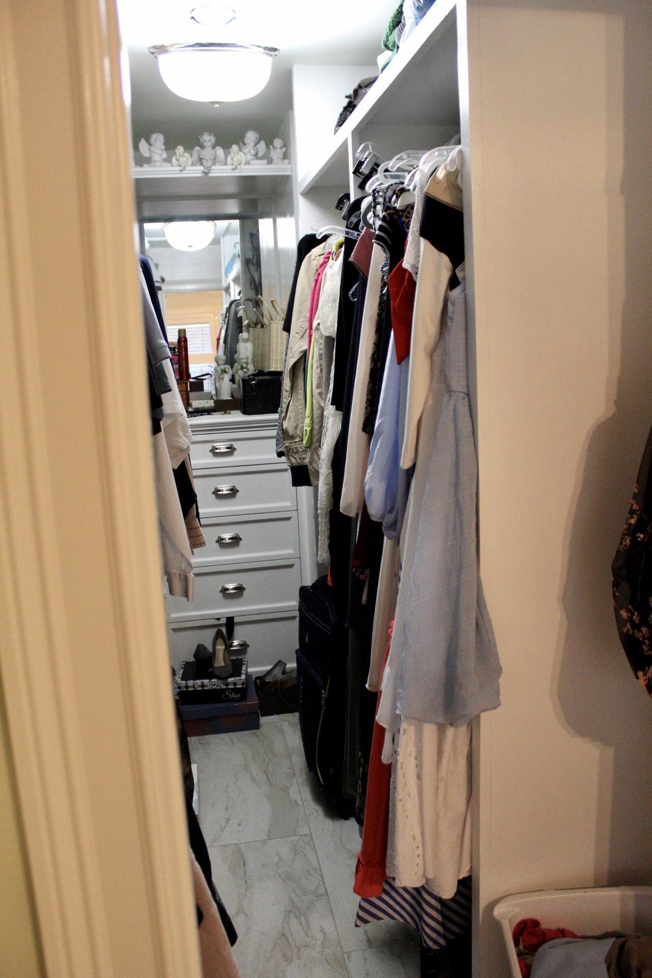 Master BR-Walkin Closet