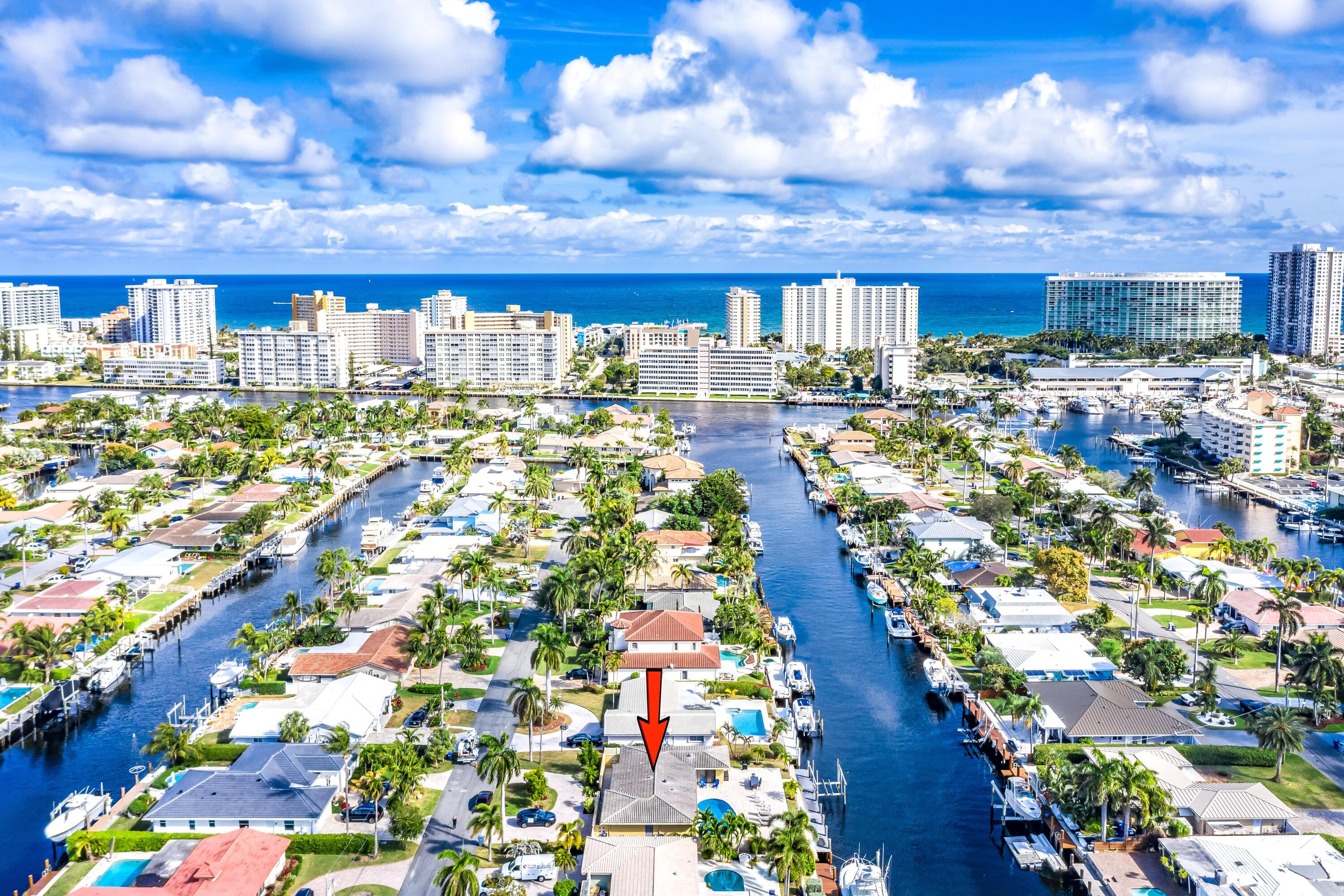 Home for sale in HARBOR VILLAGE Pompano Beach Florida