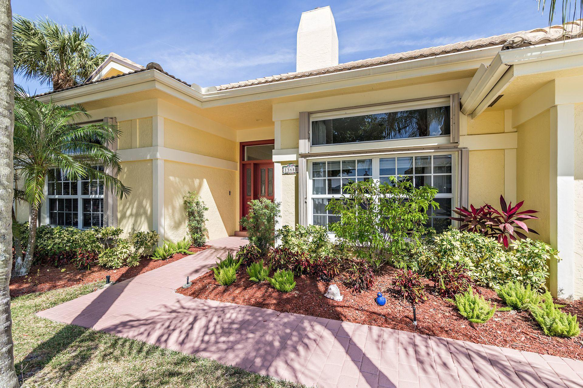 Home for sale in Crystal Pointe Community Palm Beach Gardens Florida