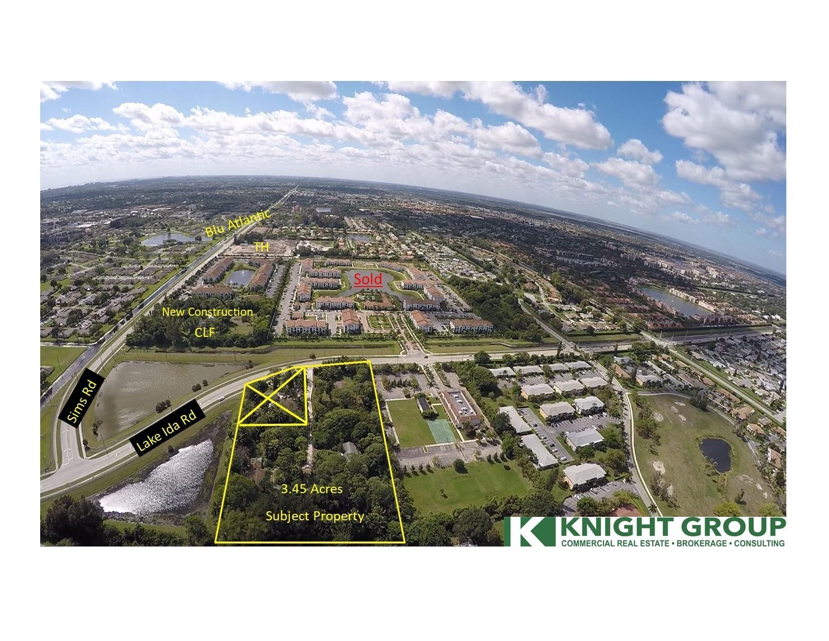 3.43 Acres 5647-5679 Sims Rd Delray Beac